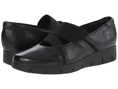 Clarks - Daelyn Villa (Black Leather) Women's Shoes