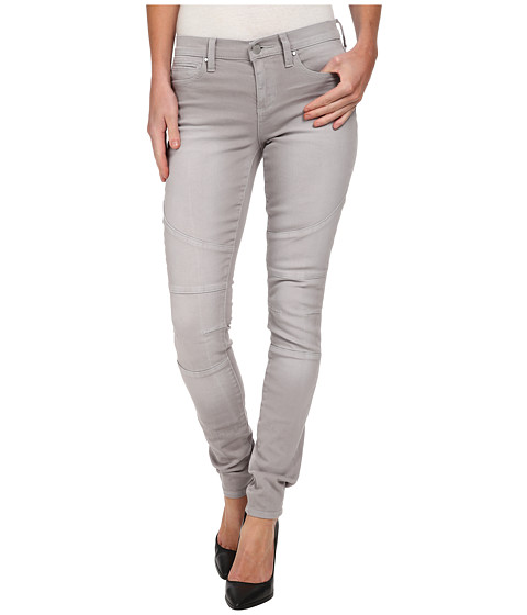 DKNY Jeans - Avenue B Ultra Skinny Pastel Color Denim in Ash Grey (Ash Grey) Women