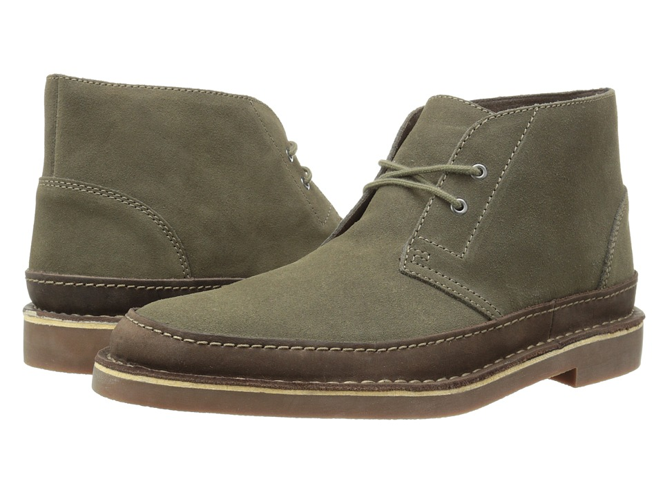Clarks - Bushacre Rand (Taupe Suede) Men's Shoes