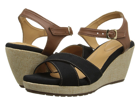 Fitzwell - Santa Barbara (Black/Brown) Women