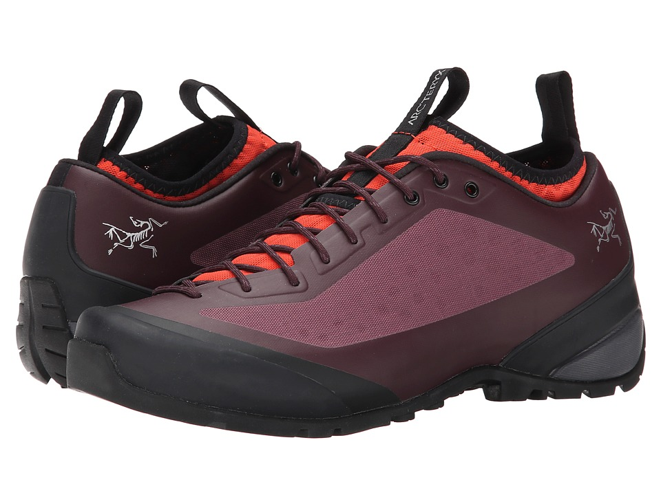 Arc'teryx - Acrux FL (Ruby Dusk/Mimosa) Women's Shoes