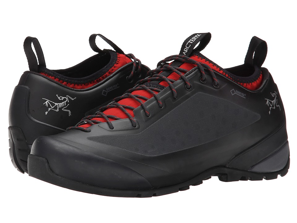 Arc'teryx - Acrux FL GTX (Black/Cajun) Men's Shoes