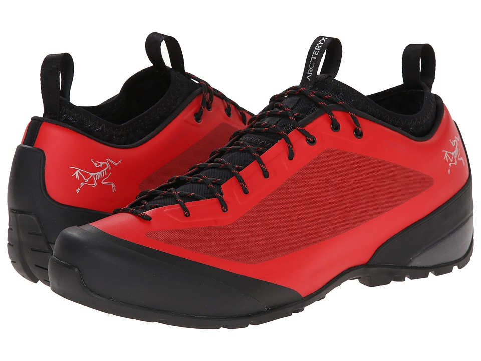 Arc'teryx - Acrux FL GTX (Bright Cajun/Black) Men's Shoes