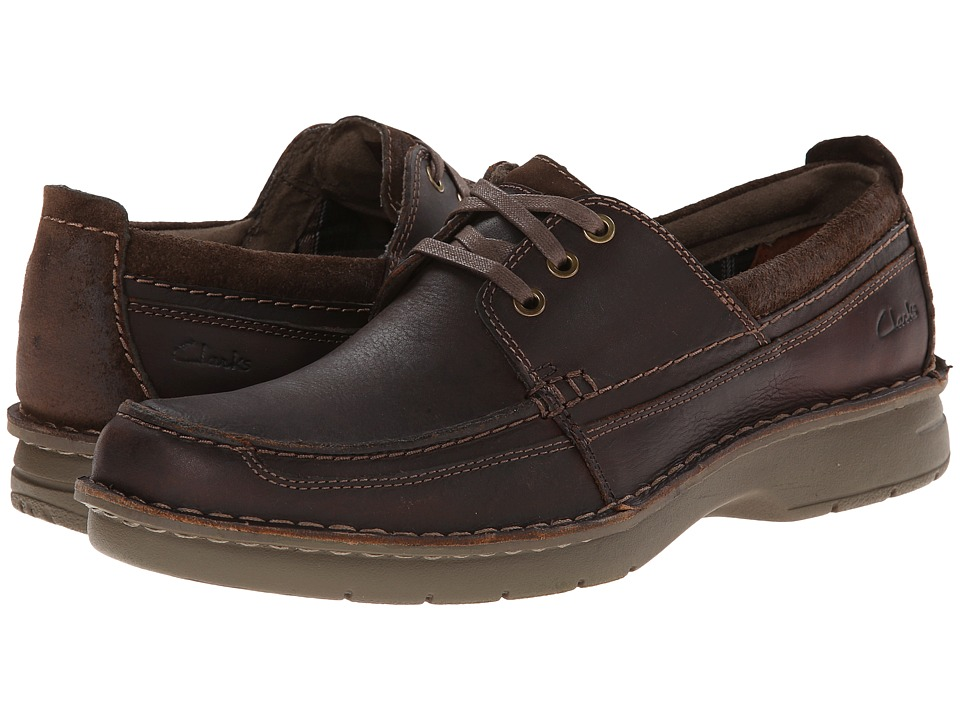 Clarks - Seeley Walk (Tan Leather) Men's Shoes
