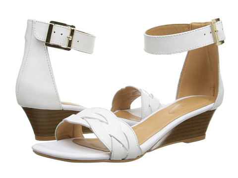 Fitzwell - Irene (White Leather) Women's Sandals