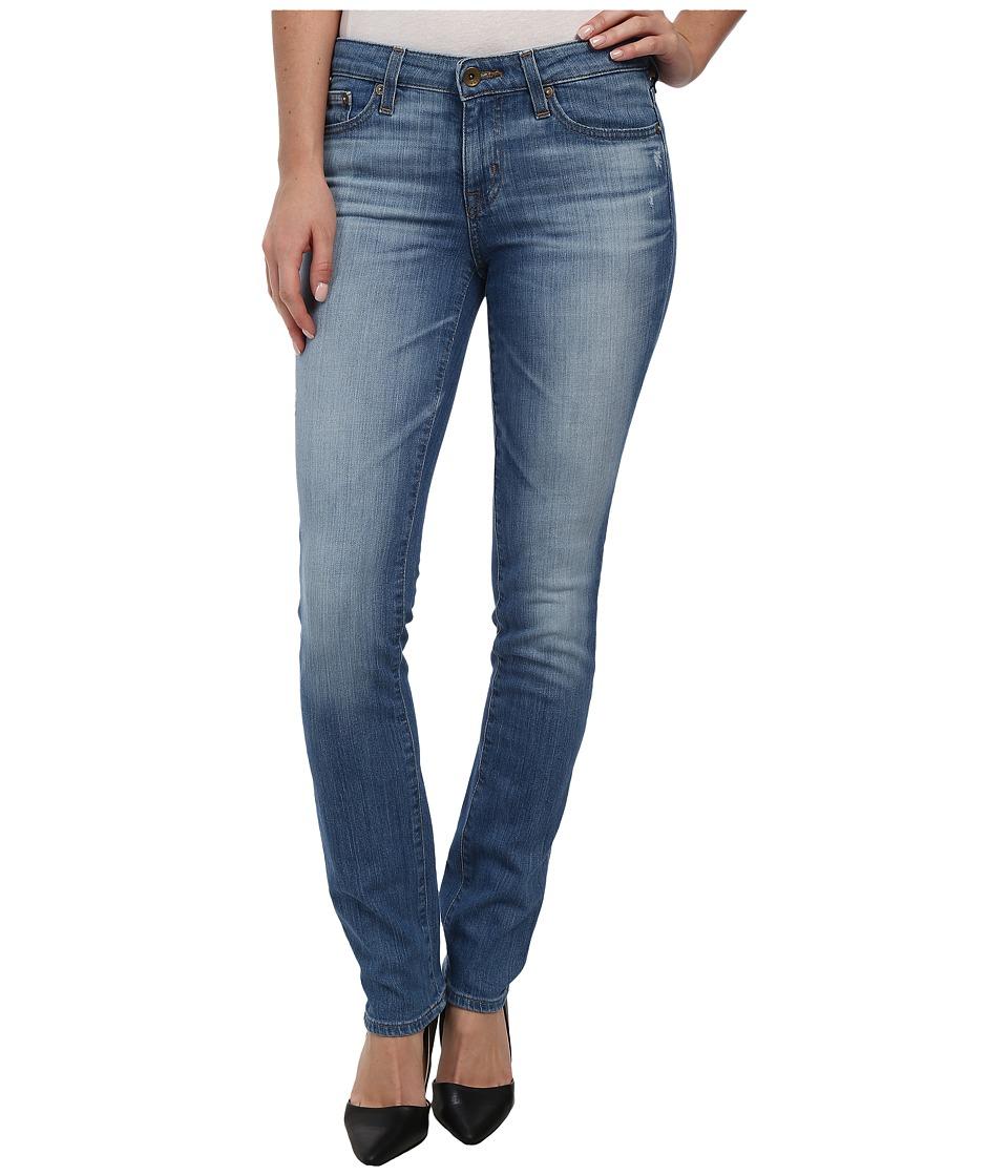 Image of Big Star - Bridgette Midrise Slim Straight in Van Ness (Van Ness) Women's Jeans