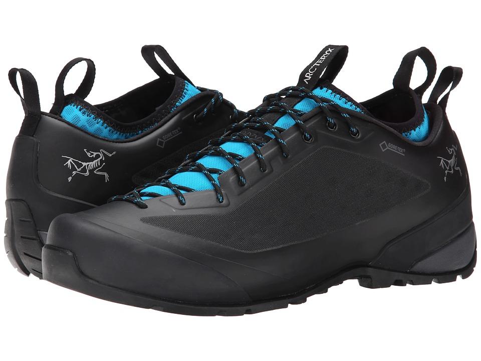 Arc'teryx - Acrux2 FL GTX (Black/Big Surf) Men's Shoes