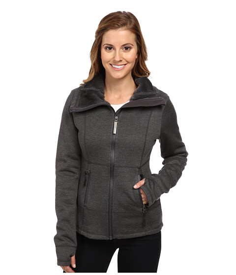 Bench - Slimlinered Funnel Neck (Anthracite Marl) Women