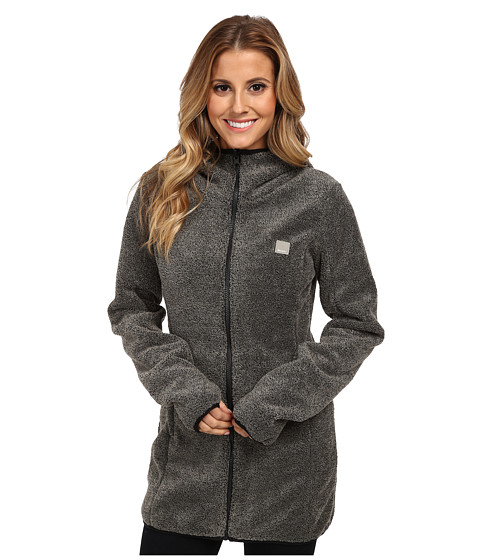 Bench - Softock Zip Thru (Jet Black) Women's Sweatshirt