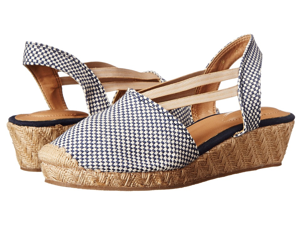 Fitzwell - Clair (Blue Weave) Women's Sandals