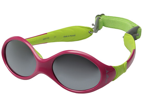 Julbo Eyewear - Looping 1 Kids Sunglasses (Fuchsia/Lime with Spectron 4 Baby Lenses) Sport Sunglasses