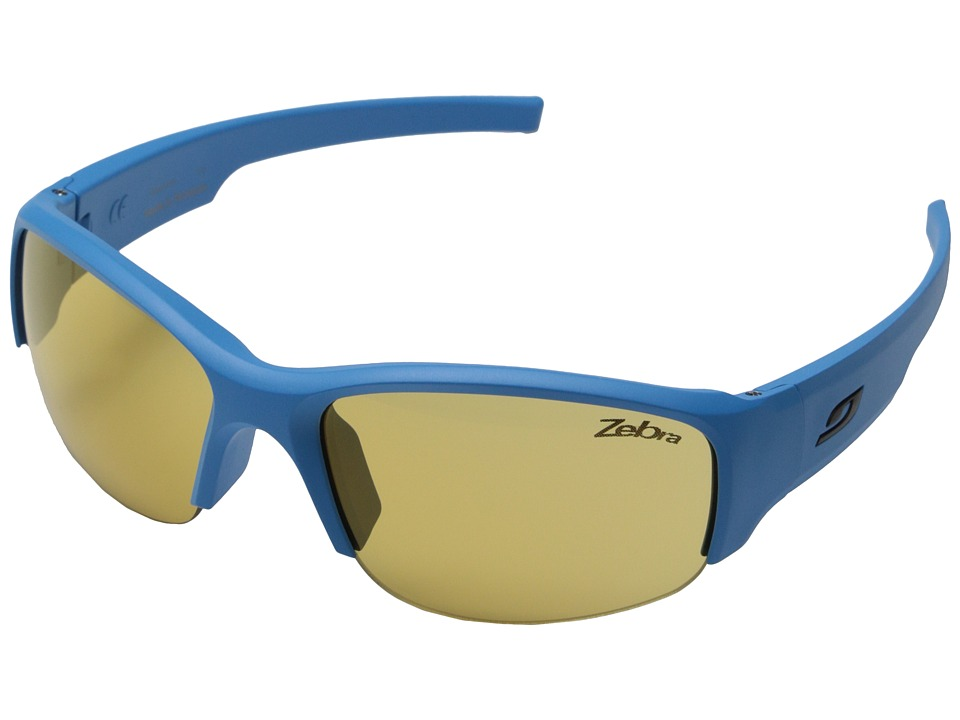 Julbo Eyewear - Access Sunglasses (Blue with Zebra Lenses) Sport Sunglasses