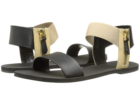 Kenneth Cole New York - Ana (Black/Beige) Women's Sandals
