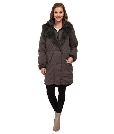 Bench - Holdtight Jacket (Beluga) Women's Coat