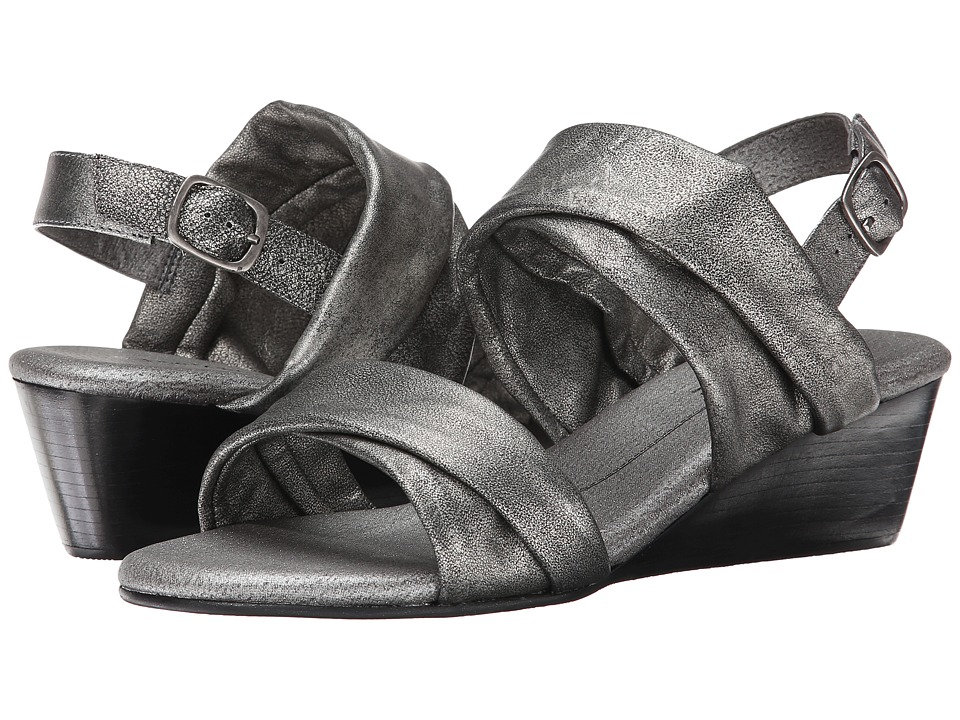 Rose Petals - Nimble (Gunmetal Ant. Metallic) Women's Sandals