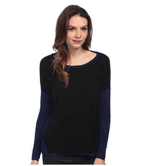 DKNY Jeans - Asymmetric Lurex East West Pullover (Evening) Women