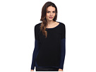 DKNY Jeans Asymmetric Lurex East West Pullover (Evening)