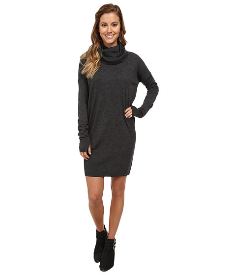 Bench - Relaksed Dress (Anthracite Marl) Women's Dress