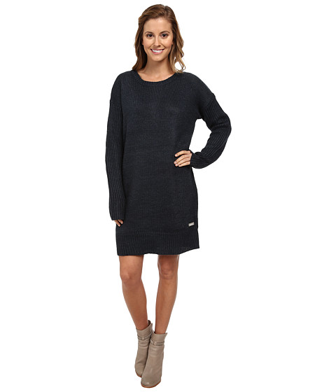 Bench - Cozeeness Dress (Midnight Navy Marl) Women's Dress