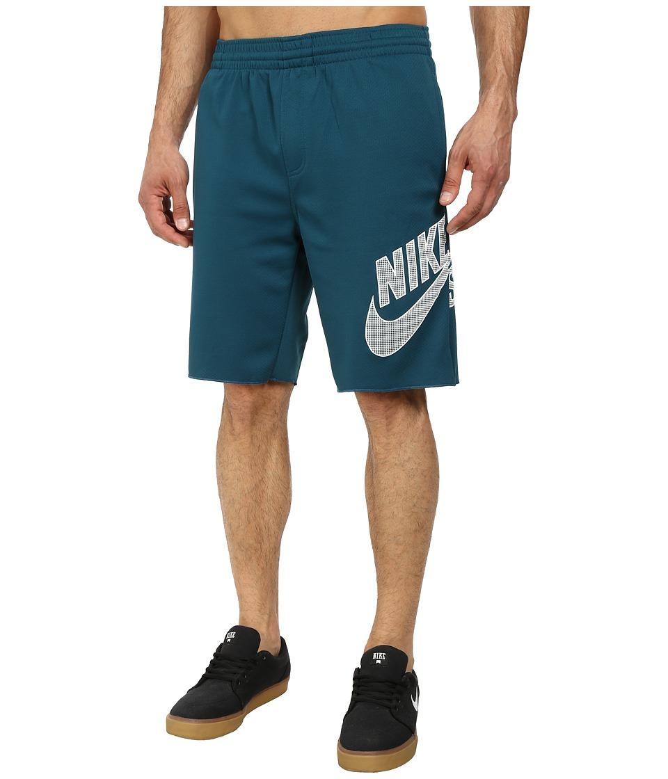 Nike SB - SB Sunday Dri-FIT Short (Teal/White) Men's Shorts