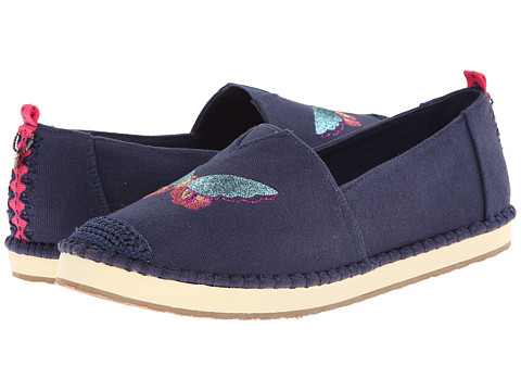 The Sak - Echo Critter (Navy Butterfly) Women's Flat Shoes