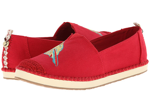The Sak - Echo Critter (Red Owl) Women's Flat Shoes