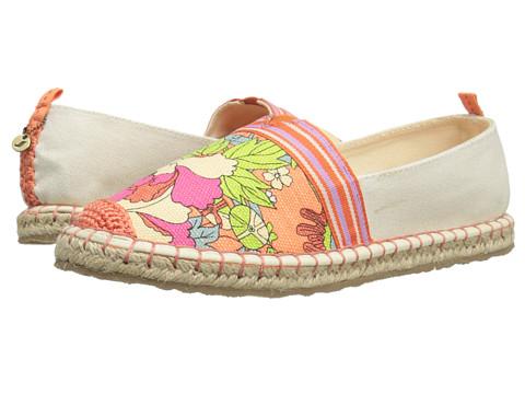 The Sak - Ella Color Block (Apricot Flower Power) Women's Slip on Shoes