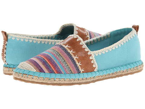 The Sak - Ella Color Block (Cool Water Loom) Women's Slip on Shoes