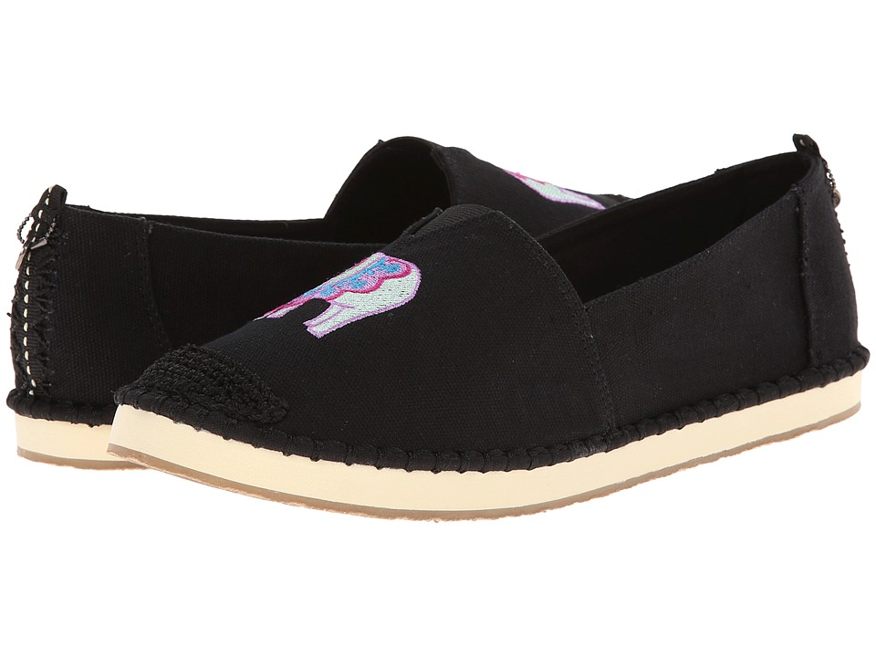 The Sak - Echo Critter (Black Elephant) Women's Flat Shoes