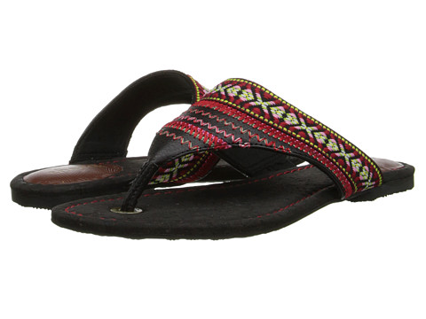 The Sak - Shana (Black Stitch) Women's Sandals