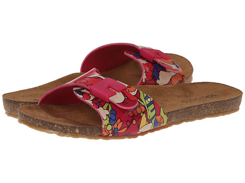 The Sak - Bree (Hot Pink Flower Power) Women's Sandals