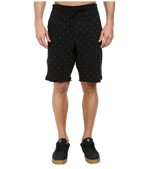 Nike SB - SB Everett Polka Dot Short (Black) Men's Shorts