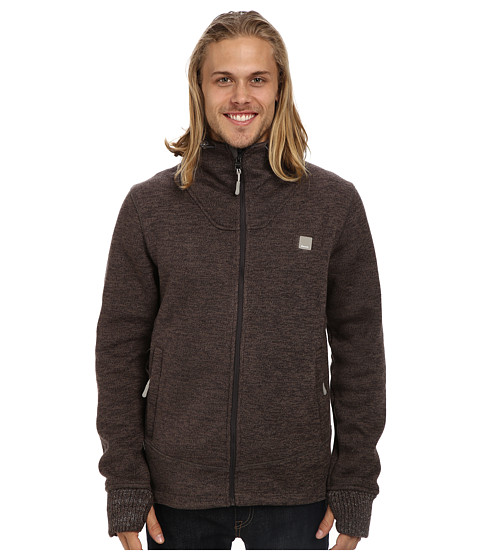 Bench - Teglide Zip Thru Hoodie (Canteen) Men