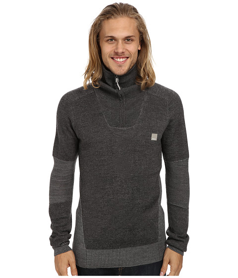 Bench - Gilfoyle Funnel Neck (Stormcloud Marl) Men's Long Sleeve Pullover