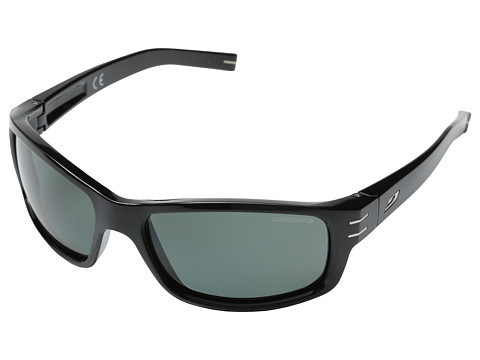 Julbo Eyewear - Suspect Sunglasses (Black with Polarized 3 Lenses) Sport Sunglasses