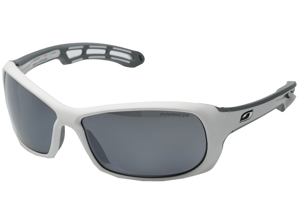 Julbo Eyewear - Swell Sunglasses (White/Grey with Polarized 3+ Lenses) Sport Sunglasses