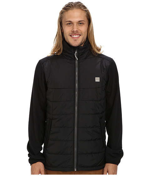 Bench - Insulite Funnel Jacket (Jet Black) Men's Coat