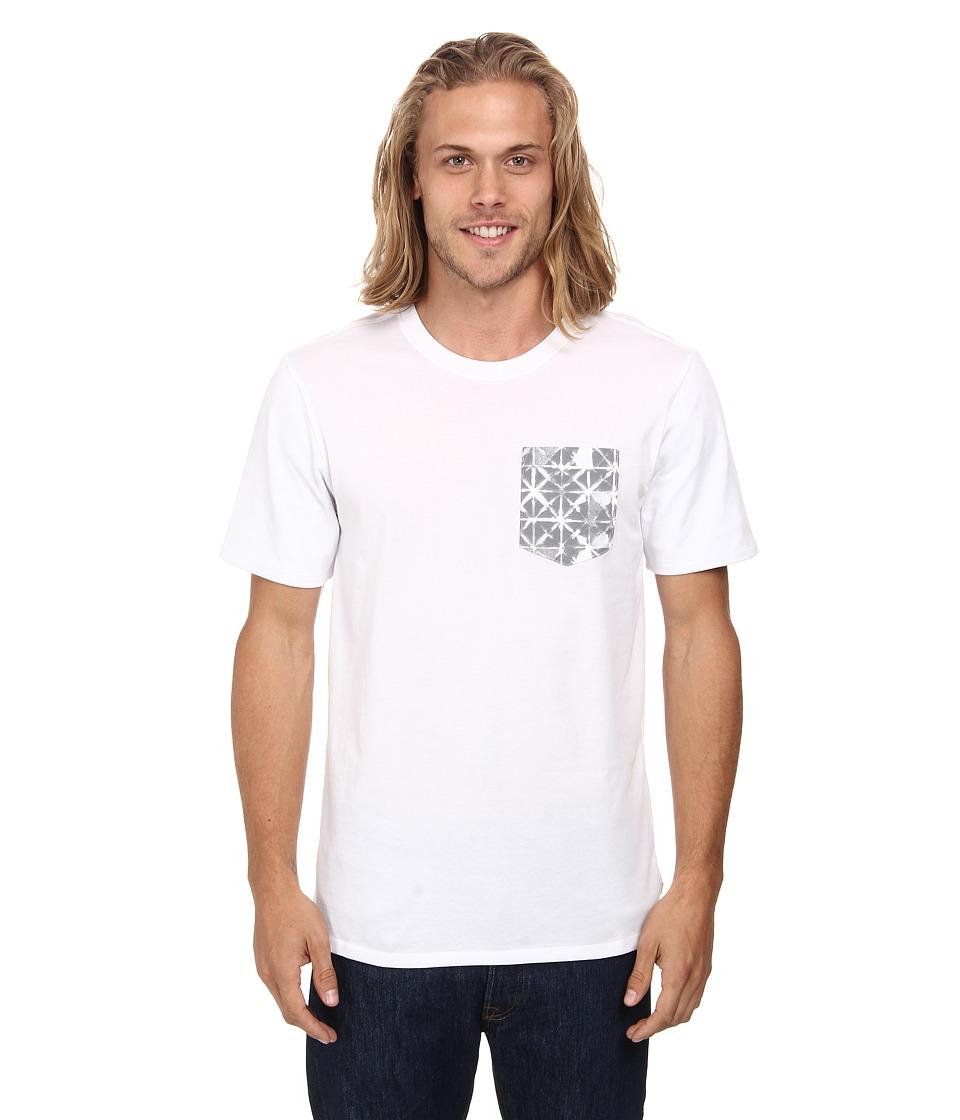 Nike SB - Dri-FIT SB Geo Dye Pocket Tee (White/White/Wolf Grey) Men