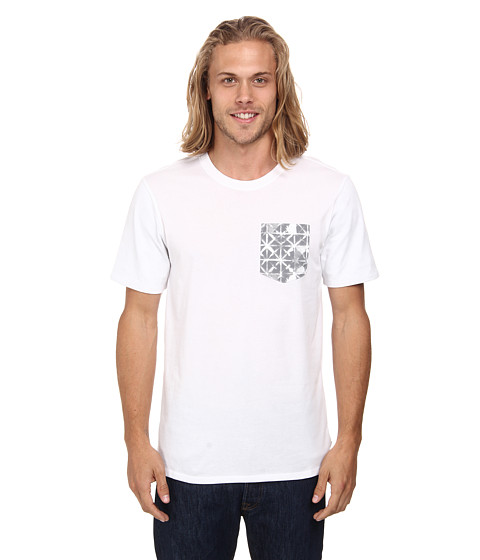 Nike SB - Dri-FIT SB Geo Dye Pocket Tee (White/White/Wolf Grey) Men