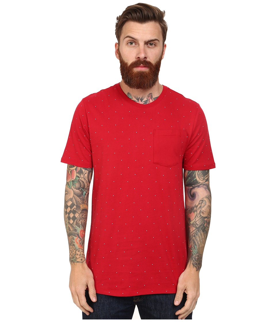 Nike SB - SB Aop Micro Dot Tee (Gym Red/Gym Red/Gym Red/White) Men's T Shirt
