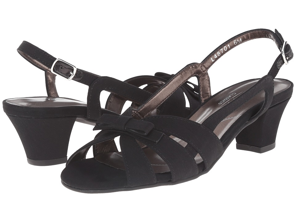 Rose Petals - Lela (Black Micro) Women's Shoes