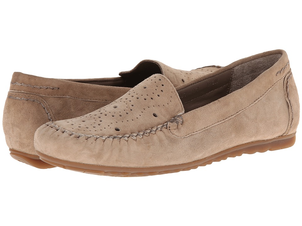 Rose Petals - Elle (Taupe Suede) Women's Flat Shoes