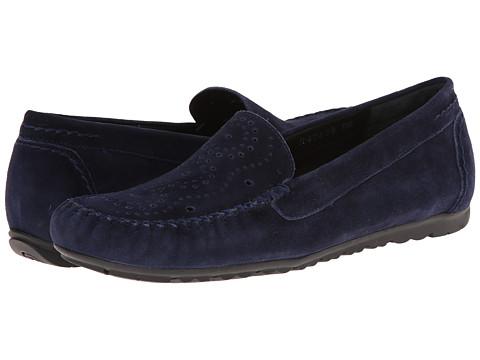 Rose Petals - Elle (Navy Suede) Women's Flat Shoes