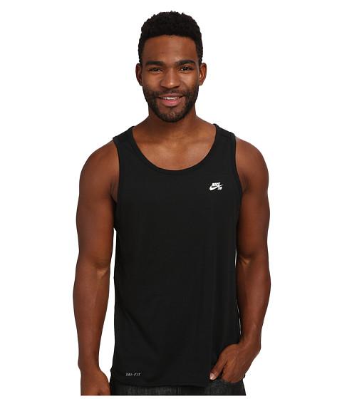 Nike SB - SB Skyline Dri-Fit Tank (Black/White) Men's Sleeveless