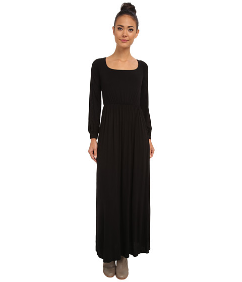 Culture Phit - Angela Open Back Maxi Dress (Black) Women's Dress