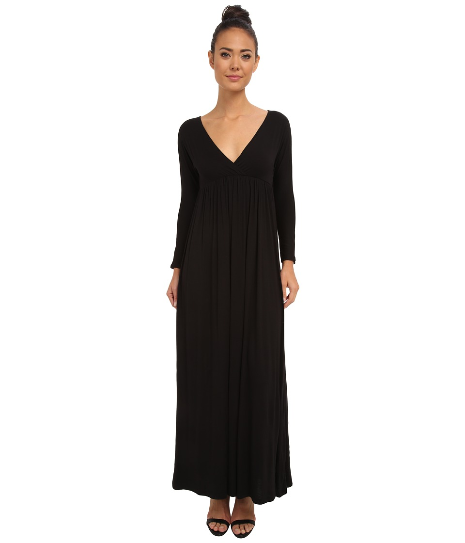 Culture Phit - Dani Cross Over Maxi Dress (Black) Women
