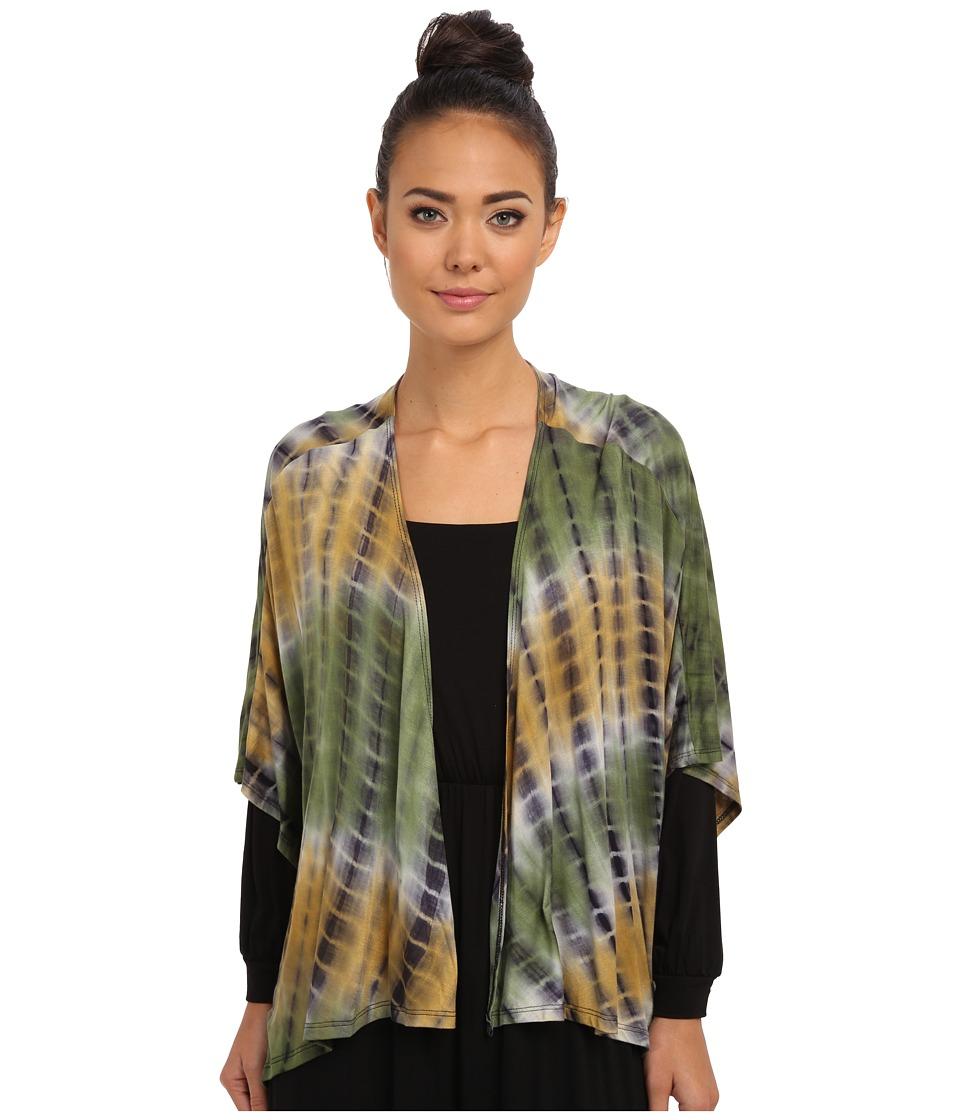 Culture Phit - Rosalie Kimono (Olive Tie-Dye) Women