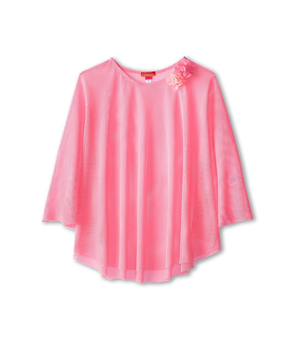 Kate Mack - Pink Paradise Cover-Up Fishnet (Big Kids) (Pink) Girl