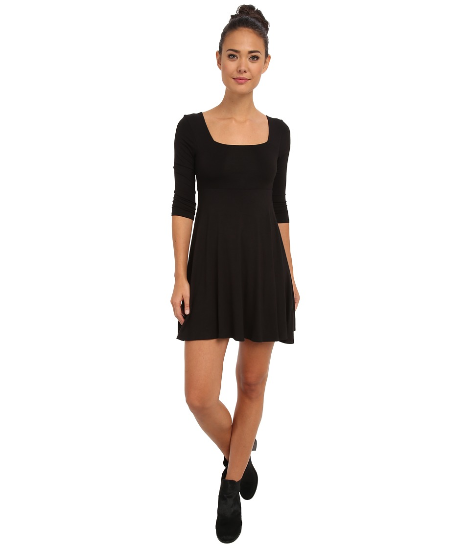Gabriella Rocha - Dakota 3/4 Sleeve Dress (Black) Women's Dress