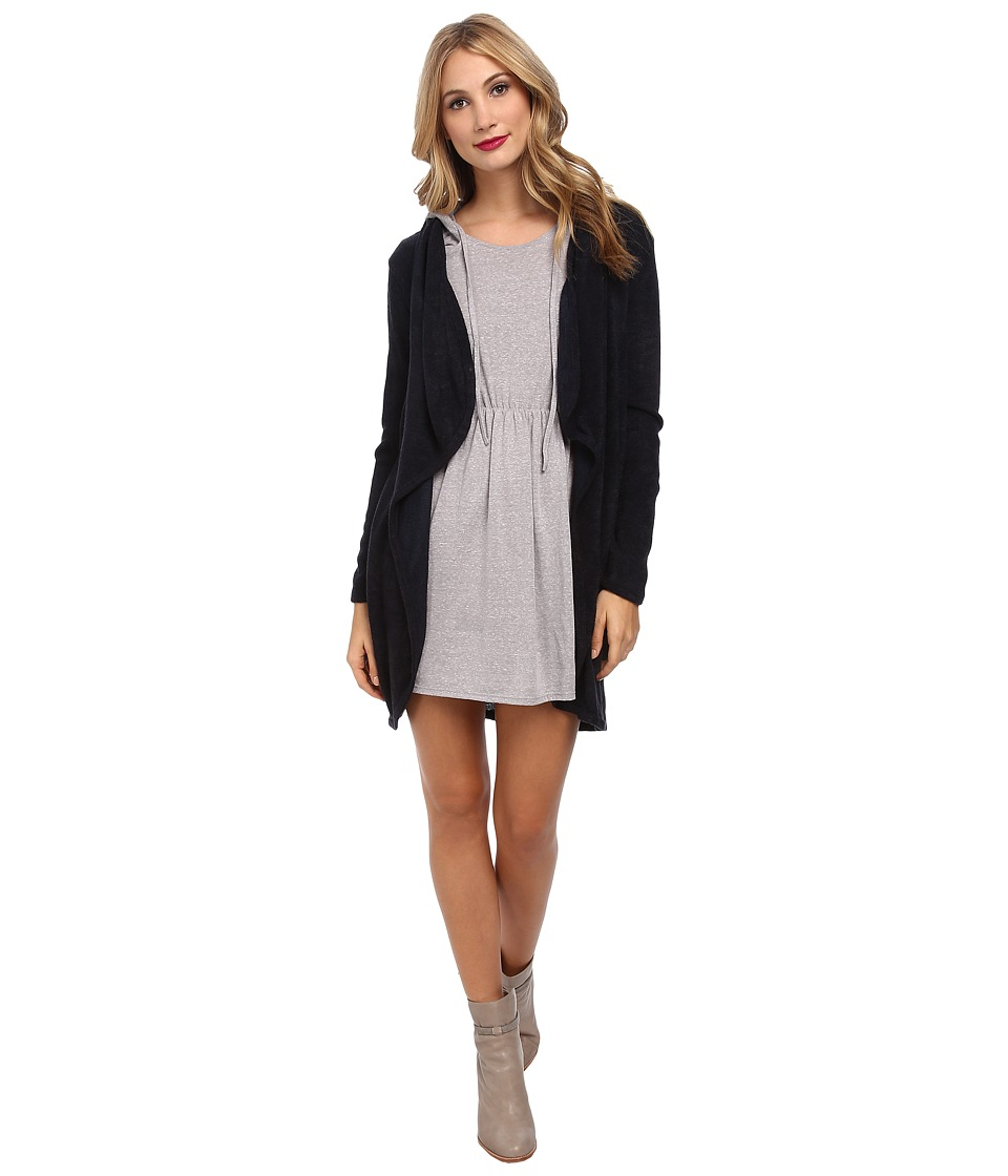 Gabriella Rocha - Esme Long Sleeve Cardigan (Navy) Women's Sweater